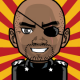 Nick Fury black