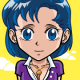 Ami Mizuno. sailor mercury